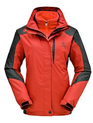 Chaqueta/Chaquetas de Ski/Snowboard/Paravientos/Chaquetas 3-en-1/Jerseyes/Personalizada ( Rojo/Azul claro/Morado/Fucsia ) -