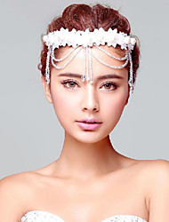 Imitation Pearls/Crystal Wedding/Party Headpieces/Forehead Jewelry