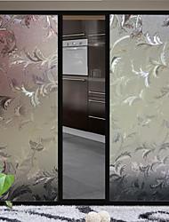 Window film filme refração porta de vidro 3d (100 * 45 centímetros)