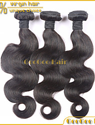 3Pcs/ Lot Brazilian Virgin Hair Body Wave Natural Black Unprocessed 100% Human Hair Bundles Free Shipping