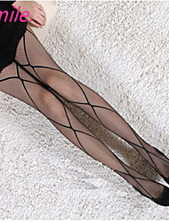Women New Hot  Sexy Black Fishnet Pantyhose Ladies Stockings Tights Sheer for girls Cross Nets Free shipping