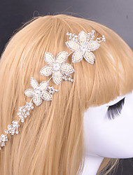 Women Alloy Tiaras With Rhinestone Wedding/Party Headpiece