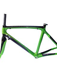 NEASTY Cadre pour la route Entièrement en carbone Cyclisme Cadre 700C Brillant 12K 52/54/56cm cm 20.5/21.3/22 pouce