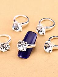 10 - Bijoux pour ongles/Autre décorations - Doigt - en Fleur/Abstrait/Adorable/Mariage - 11*7.5*1.5