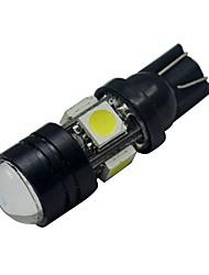 T10 3 W 5 SMD 5050 250-280lm LM Холодный белый Декоративное освещение DC 12 V