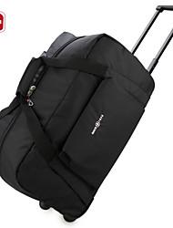SWISSGEAR® 21 InchTravelling Bag Duffel Carry Bag Black Boston Bag Luggage Bag Large Capacity Suitcase