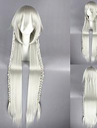 40inch pandora hearts-alice argento bianco parrucca del anime cosplay cs-040A