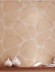 wallpaper géométriques Birds Nest modèles avec finition poudre dorée mur de couleur brune domaines de l'art non-tissé mur de papier