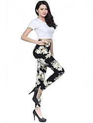 Women's Gardenia Design Skinny Pants