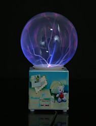 resina recargable bola de cristal llevó la lámpara