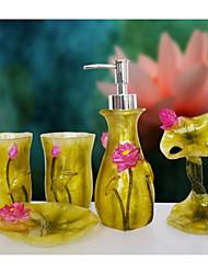 o banheiro cirrus lotus Ware 5 sets