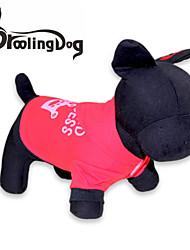 Katzen / Hunde Kapuzenshirts Rot / Rosa Hundekleidung Frühling/Herbst Tiaras & Kronen