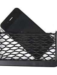 poches de rangement net de stockage de voiture de voiture 14.5x8cm net boîte de sac automobile adhésif sac de voiture visière pour les