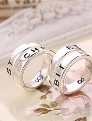 Couple de Bagues (Alliage) Mariage/Soirée/Quotidien/Casual