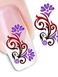 Water Transfer Printing Nail Stickers NO.1250