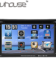 6,2 pollici 2 DIN Car DVD Player con GPS, TV, iPod, Bluetooth