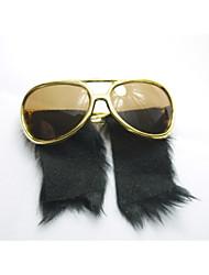 pc grappig elvis stijl pruik geek&chique party bril
