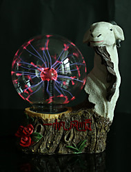 Resin Crystal Ball Aries Rechargeable LED Lamp
