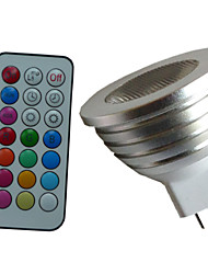 1 pcs SchöneColors MR16 4W 1X3W LED Dimmable/21Keys Remote-Controlled/Decorative RGB Spotlights AC/DC 12V