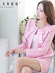 Pink Doll®Women's Casual Medium Long Sleeve Short Blazer (