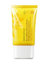 Innisfree безопасности эко ежедневно солнцезащитный крем SPF35 PA +++ 50ml in1002