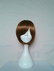 Stylish Cosplay Wig Natural Wigs Woman's Wigs Brown Short Straight Animated Synthetic Hair Wigs