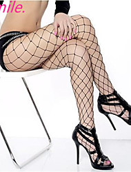 Women New Hot Sexy Black Big Mesh Fishnet Pantyhose Ladies Stockings Tights Sheer for girls Free shipping