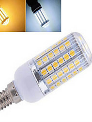 1 pcs  E14 12 W 56LED  SMD 5050 850 LM 2800-3500/6000-6500 K Warm White/Cool White Corn Bulbs AC 220-240 V