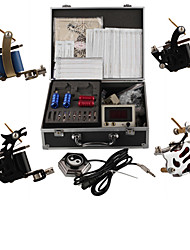 professionele tattoo machine kits met 4 stalen tattoo machines guns