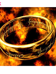 OPK®Immortal Symbol Rights Scripture Faith The Lord of the Rings Titanium Ring