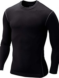 High-elastic  Fitness Tight Fast Drying T-Shirt Male