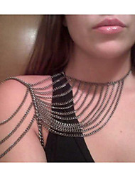Body Jewelry/Body Chain Alloy Others Unique Design Fashion Silver 1pc