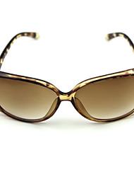100% UV 400 vrouwen luipaard graan oversized gradiëntkleur zonnebril