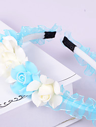 Fresh Flowers Yarn Headbands Wedding/Party Headpiece