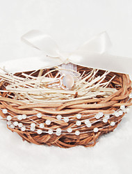 Chocolate 1 Ribbons / Faux Pearl / Rattan Rattan
