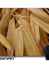 seenpin personalizados amarelo plantas de trigo murchas deixa almofadas agricultura rato