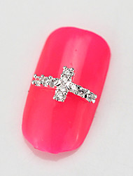 10PCS RG130 Luxury Zircon 3D Alloy Nail art Decoration Diamond Nail Salon Supplier DIY Accessories Nail Rhinestone