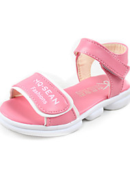 Girls' Shoes Outdoor/Dress/Casual Comfort Leather Sandals Pink/Red