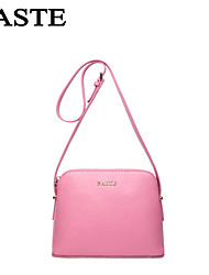 PASTE®  Women Casual Simple Style Genuine Leather Girl Crossbody Bag