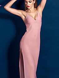 Damen Babydoll & slips / Roben / Besonders sexy Nachtwäsche einfarbig-Polyester / Seide Rosa / Schwarz Damen