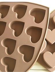 mode siliconen chocoladevorm ijs decoratie zoete voedsel keuken bakvormen kookgereedschap cakevorm (willekeurige kleur)