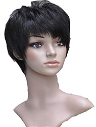 Capless Short 100% Human Hair Wigs
