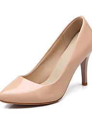 Черный / Синий / Бежевый - Женская обувь - Для праздника - Дерматин - На шпильке - С острым носком - Обувь на каблуках