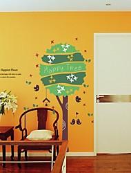 autoadesivi della parete stickers murali, adesivi murali albero pvc felici