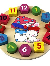 Baby Toys Geometry Cognitive Clock
