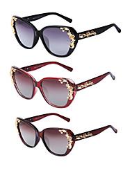 3PCS LianSan 100% UV400 Women's Oversized Sunglasses