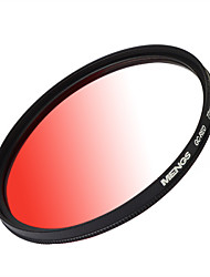 MENGS® 77mm Graduated RED Filter With Aluminum Frame For Canon Nikon Sony Fuji Pentax Olympus Etc Digital Camera