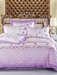 lujo yuxin® hueco de algodón lluvia 4 pieza sábanas de algodón ropa de cama de la boda textil colcha cama-1.5m 1.8m / 2.0m