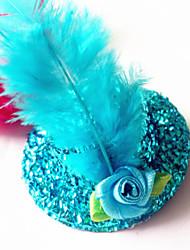 Girls Fashion Hat Hair Accessories Clips & Claws(Random Color)