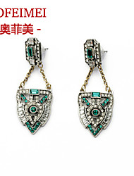 The new alloy European and American retro luxury jewelry items Ms. earrings earrings
